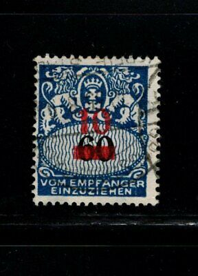 Item No. A6706 – Danzig – Scott # J41 – Used