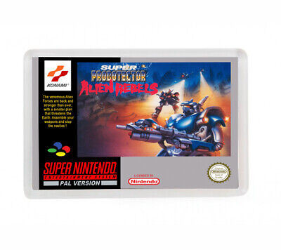 Super Probotector Alien Rebels Super Nintendo Fridge Magnet Iman Nevera