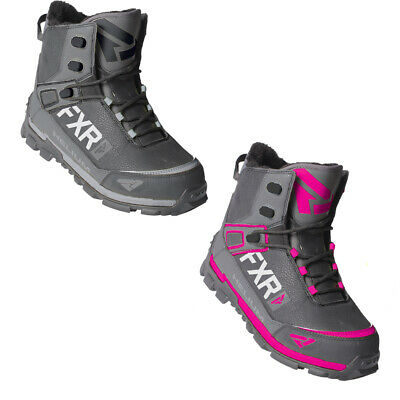 FXR Snowmobile Insulated Helium Outdoor Boot SPEED Anti-slip Lace Easy tie & Go
