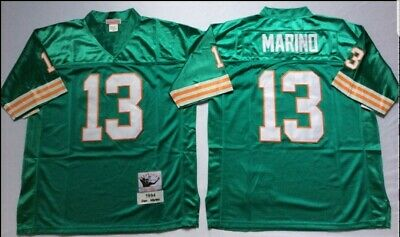 sports shoes 44271 4bcd7 MEN MITCHELL & Ness Dan Marino Throwback Jersey 1994 Miami Dolphins Size 48  NWT