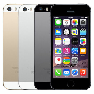 Apple iPhone 5s 16GB 32GB 64GB 4G LTE AT&T T-Mobile Verizon Sprint Unlocked