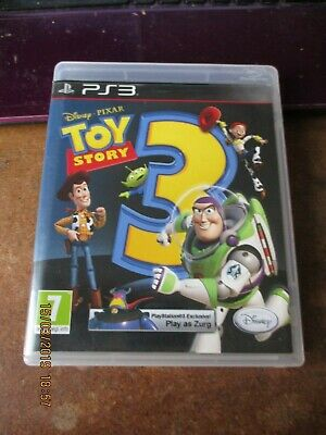 used PS3 playstation game,disney pixar toy story 3,disc and instruction manual