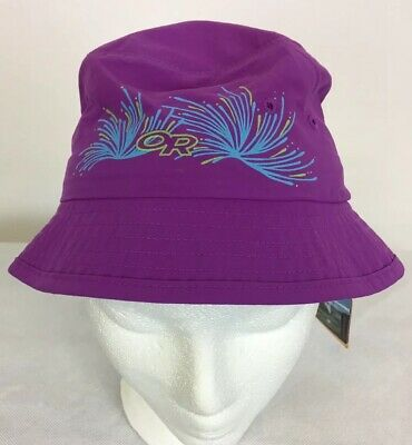 3ed3a1c3c9e Outdoor Research Kids Solstice Bucket Sun Hat UPF 50+ Size M - NWT  Ultraviolet