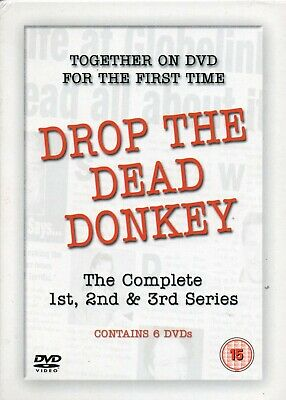 Drop The Dead Donkey - The Complete Series 1 - 3 (6- Disc) DVD Box Set