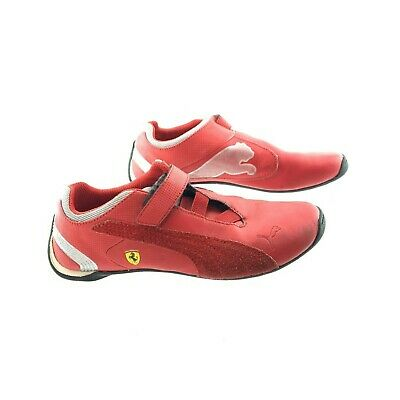 PUMA F116 SF V Kids Trainers Boys Scuderia Ferrari Formula 1 Sneakers Shoes