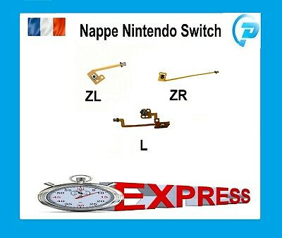 Nappe Bouton NINTENDO SWITCH touche ZR ZL L manette joycon flex joy-con Ruban