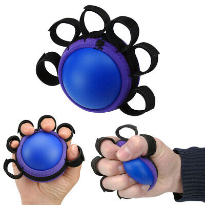 Hand/Wrist/Finger Gripper Therapy Exerciser Grip Ball Adjustable Multi Purposes
