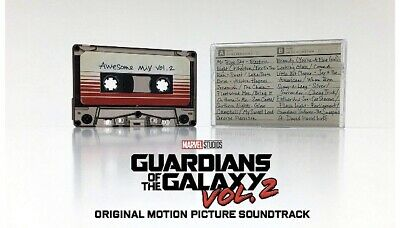 Guardians Of The Galaxy, Vol. 2 Awesome Mix Audio Cassette Tape Various Artists