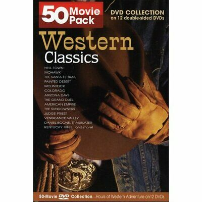 A Collection Of Western Classics & John Wayne Films On Dvd - 70 Titles In All