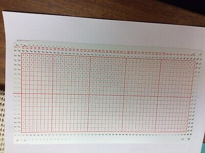 18 stitch punchcard for knitmaster hk160and mk70 knitting machine