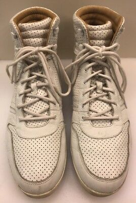 ALEXANDER MCQUEEN BY Puma Men Leather White Sneakers Sise US