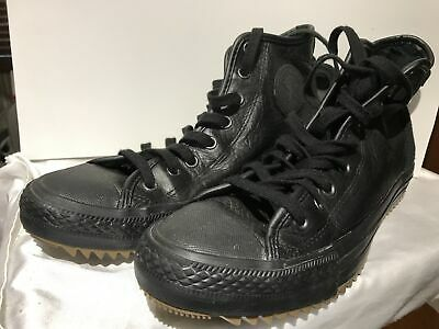 7ee850ace87f Unisex Black Converse Chuck Taylor All Star Boot-Size 10Mens 12 Women s-  132387C