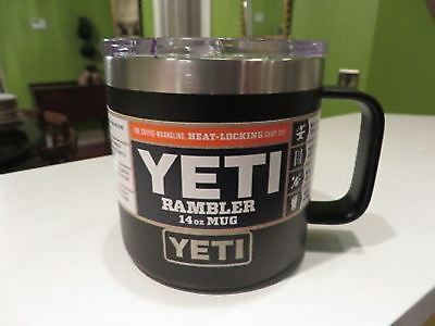 6a3835fe341 YETI RAMBLER 14OZ Mug Brick Red (power color) Hot or Cold *NEW ...