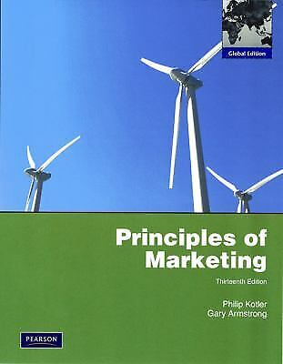 Principles of Marketing  (ExLib) by Gary Armstrong; Philip Kotler