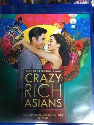 Crazy Rich Asians Blu-Ray No DVD/Digital/Slip Like New FREEFAST Combine SHIPPING