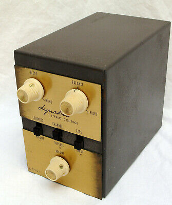 Dynaco DSC-1 Stereo Control for PAM-1 Tube Preamp
