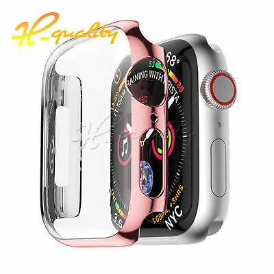 Full Cover Case For Apple Watch Series 3/4 Built In iWatch Screen Protector