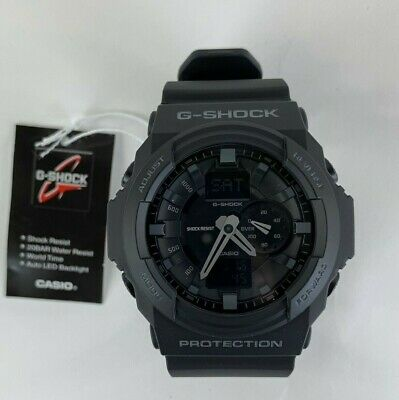 Casio G Shock Mens Black Resin Quartz Watch GA-150-1AER