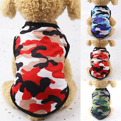 Cute Pet Dog Clothes Summer Puppy Shirt T shirt Cat Vest Clothing for Small Pet