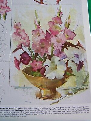 The Magic Of Flower Painting By Nan Greacen  Walter Foster Tole Paint Book