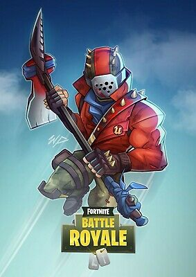 FORTNITE Battle Royale Game Poster - Rust Lord - 11x17 - 13x19