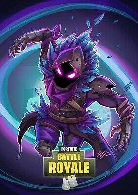 FORTNITE Battle Royale Game Poster - Raven - 11x17 - 13x19