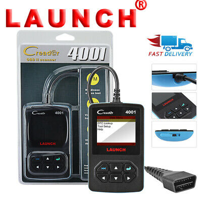 CA Launch CR4001 OBD2 Scanner Diagnostic Tool Code Reader OBDII EOBD Free Update