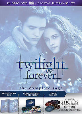 The Twilight Saga: The Complete Collection (DVD, 2013, 12-Disc Set)  Brand New