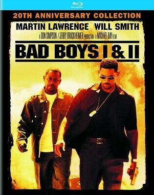 Bad Boys I & II 20th Anniversary Edition Blu-Ray - HD Code