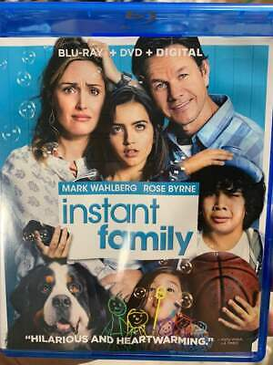 Instant Family Blu-Ray No DVD/Digital/Slip Like New FAST FREE Combine SHIPPING