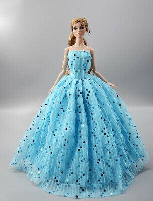 Fashion Princess Party Dress/Evening Clothes/Gown For 11.5 inch Doll b02
