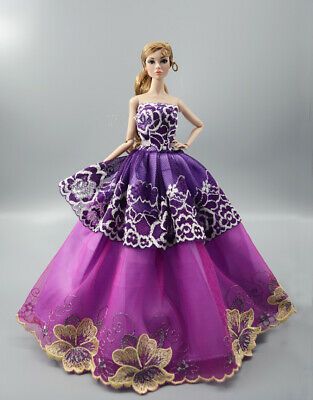 Fashion Princess Party Dress/Evening Clothes/Gown For 11.5 inch Doll b07