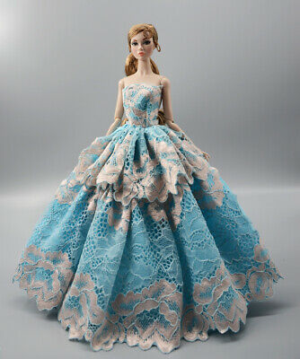 Fashion Princess Party Dress/Evening Clothes/Gown For 11.5 inch Doll b11