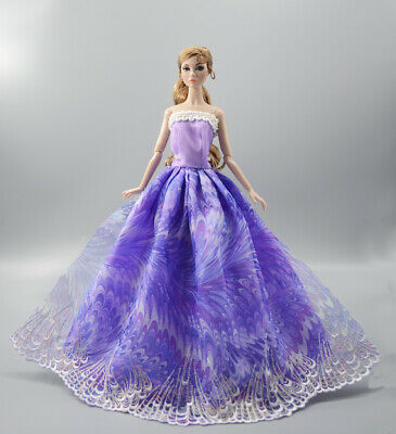 Fashion Princess Party Dress/Evening Clothes/Gown For 11.5 inch Doll b14