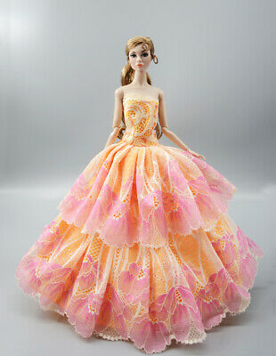 Fashion Princess Party Dress/Evening Clothes/Gown For 11.5 inch Doll b22