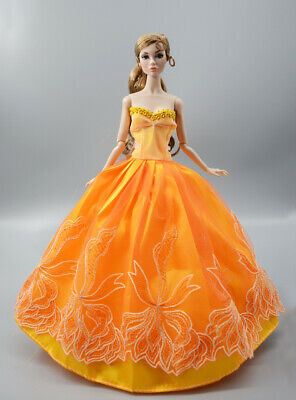 Fashion Princess Party Dress/Evening Clothes/Gown For 11.5 inch Doll b24