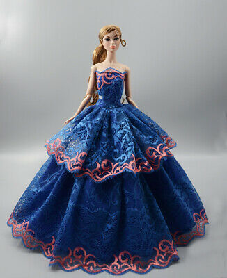 Fashion Princess Party Dress/Evening Clothes/Gown For 11.5 inch Doll b27