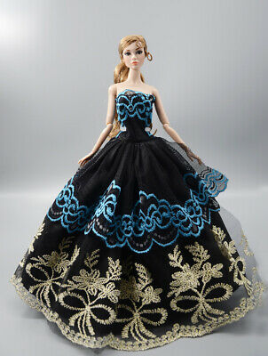 Fashion Princess Party Dress/Evening Clothes/Gown For 11.5 inch Doll b28