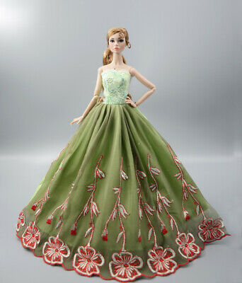 Fashion Princess Party Dress/Evening Clothes/Gown For 11.5 inch Doll b09