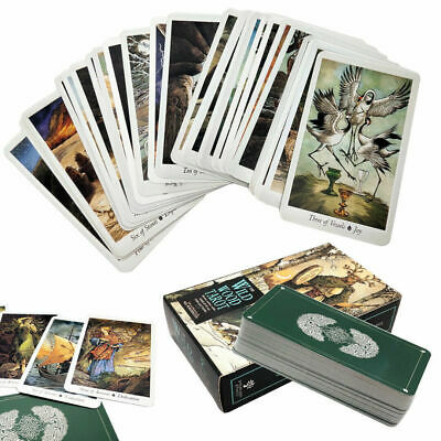 Nature 78 Tarot Cards Deck Full English Mysterious Animal Playing Board Game