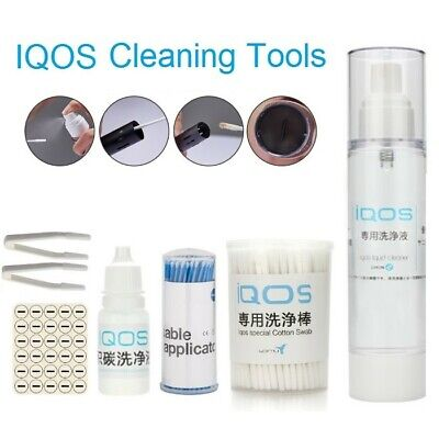 6 IN 1 CLEANING STICKS Cleansing liquid Stains Tweezer Oil Absorb Gasket
