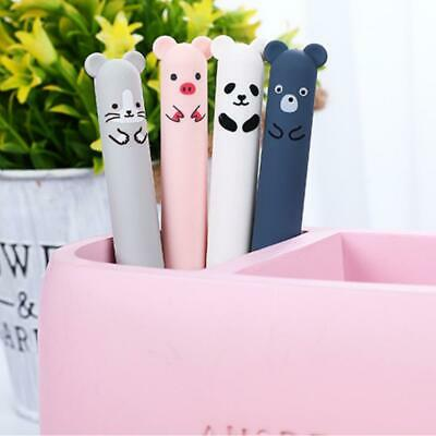 Cute Kawaii Cartoon Cat Gel Ink Pen Ballpoint 0.35mm Blue Ink Student Pens Gifts