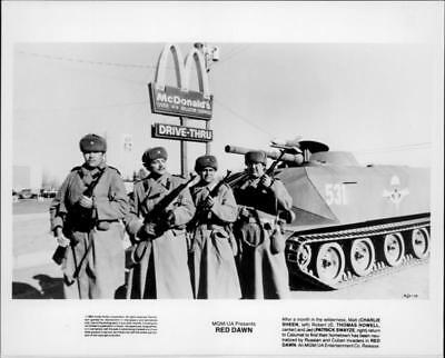 A scene from the film Red Dawn. - Vintage photo