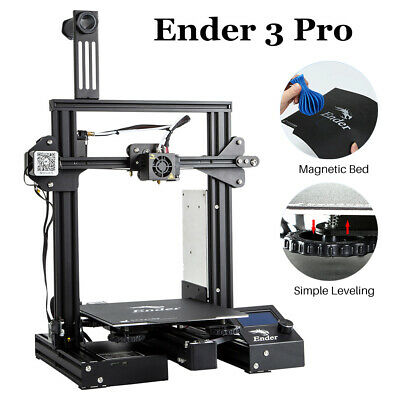 Creality Directly Ender 3 Pro 3D Printer Magnetic Removable Hot Bed Build Plate