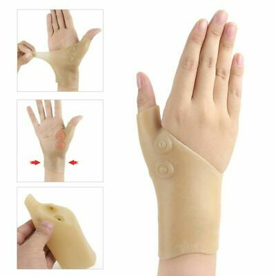 Healthcare Magnetic Therapy Wrist Silicone Glove Support Hand Pain Unique
