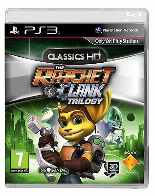 The Ratchet & Clank Trilogy: Classics HD (PS3) BRAND NEW SEALED