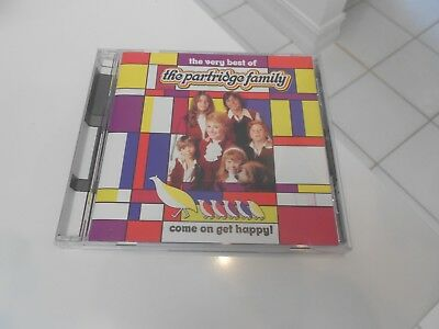 Come on Get Happy!: The Very Best of Partridge Family CD  EXCELLENT