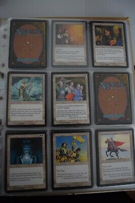 MAGIC THE GATHERING MTG collection rare vintage collector AQUILON weatherlight