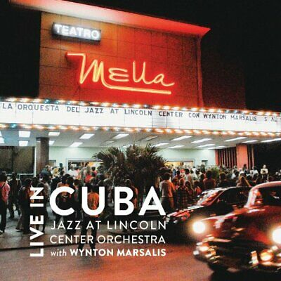 Jazz at Lincoln Center Orchestra / Wynton Marsalis - Live In Cuba CD NEW