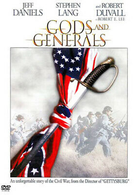 Gods and Generals DVD NEW